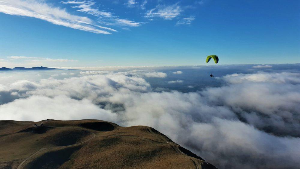 Vol parapente au Puy de Dôme